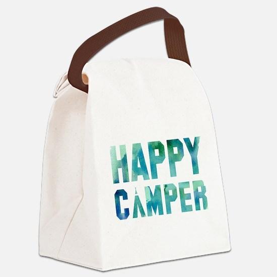 Happy Camper Canvas Lunch Bag