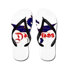 new darbarians150.tif Flip Flops