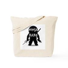 Ninja Baby Tote Bag
