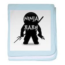 Ninja Baby baby blanket