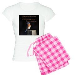 I hope you love birds too. Pajamas