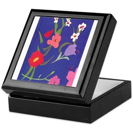 Burst of color and hope Keepsake Box
