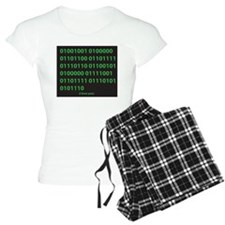 I LOVE YOU binary code Pajamas