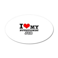 Nutritionists Job Designs Wall Decal