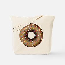 Donut with Sprinkles Tote Bag