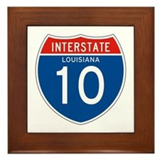 Interstate 10 - LA Framed Tile