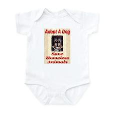Adopt A Dog Save Homeless Ani Infant Bodysuit
