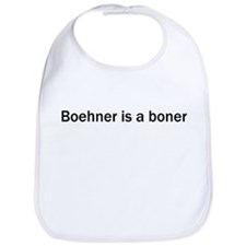 Boehner is a Boner (White) Bib