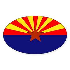 Arizona State Flag Rectangle Decal
