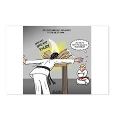 Karate Head Break Postcards (Package of 8)