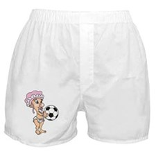 Cute Soccer Baby Boxer Shorts