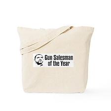 Obama Gun Salesman Of the Year Tote Bag