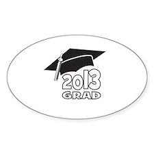 2013 Grad Hat Decal