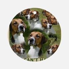 foxhound group Ornament (Round)