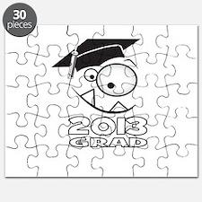 2013 Grad Cute Monster Face Puzzle