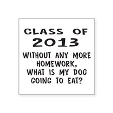 Class of 2013 Homework Sticker