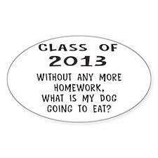 Class of 2013 Homework Decal