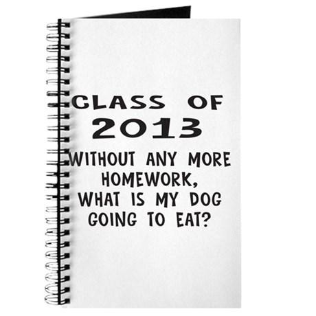 Class of 2013 Homework Journal