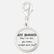 Just Graduated Blonde Humor Charms