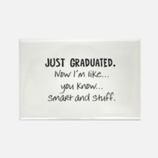 Just Graduated Blonde Humor Rectangle Magnet