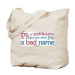 Anti-Government Politician  Tote Bag