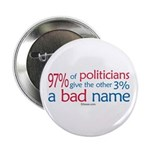 "Anti-Government Politician 2.25"" Button (100 pack"