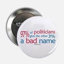 Anti-Government Politician Button