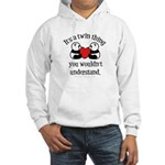 It's a twin thing Hooded Sweatshirt