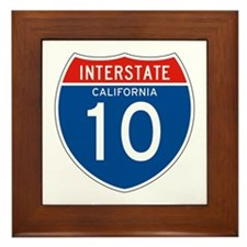 Interstate 10 - CA Framed Tile