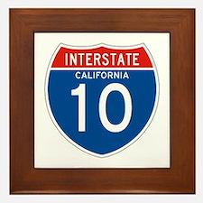 Interstate 10 - CA Framed Tile