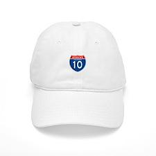 Interstate 10 - CA Baseball Cap