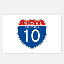 Interstate 10 - CA Postcards (Package of 8)