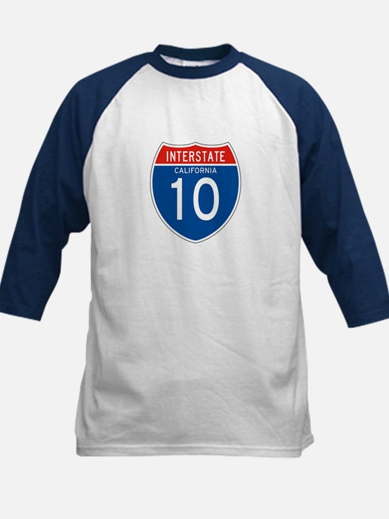 Interstate 10 - CA Kids Baseball Jersey