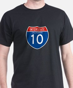 Interstate 10 - CA T-Shirt