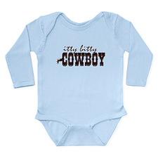 Itty Bitty Cowboy Long Sleeve Infant Bodysuit