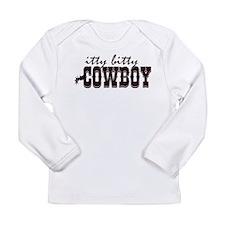 Itty Bitty Cowboy Long Sleeve Infant T-Shirt