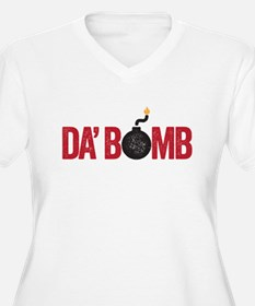 da bomb Plus Size T-Shirt