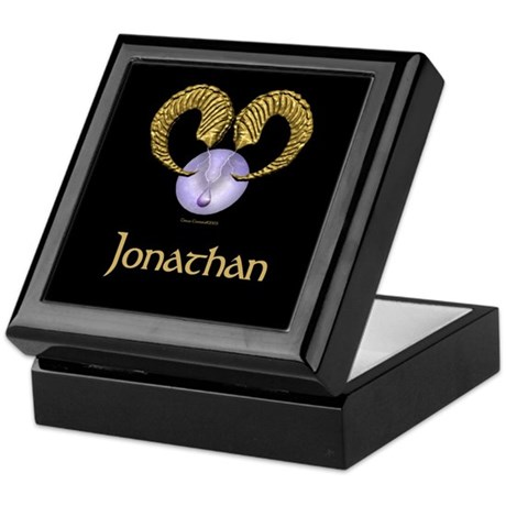 Aries sun sign personalized w Keepsake Box