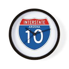 Interstate 10 - AZ Wall Clock