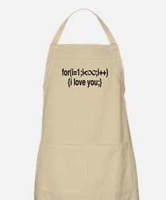 I Love You....For Ever! Apron