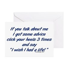 Get a Life Greeting Cards (Pk of 10)