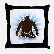 It's bigfoot at peace, doing yoga, meditating Thro