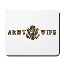 Army Wife Mousepad