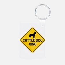 Cattle Dog Xing Keychains