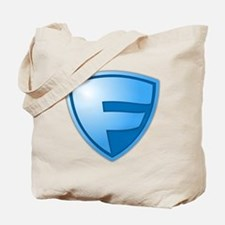Super F Super Hero Design Tote Bag