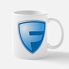 Super F Super Hero Design Mug