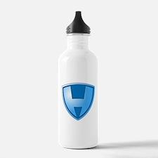 Super H Super Hero Design Water Bottle