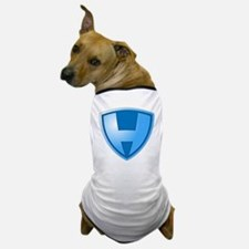 Super H Super Hero Design Dog T-Shirt