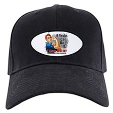 If Rosie Can Do It Brain Cancer Baseball Hat