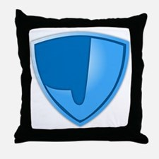 Super J Super Hero Design Throw Pillow